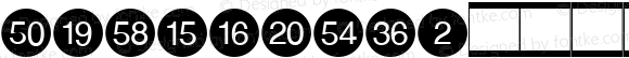 NumericsW95-3 Regular Version 1.10