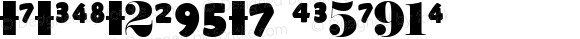 NumericsW95-7 Regular Version 1.10