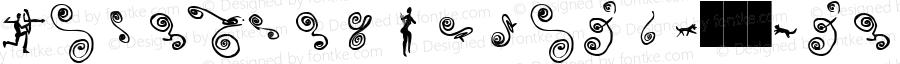 LinotypeAfrikaW95-Two Regular Version 2.00