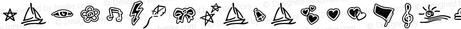 LinotypeZigibacksW95-Two Regular Version 1.10