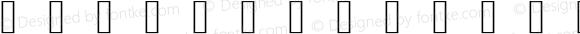 glyphs Regular Version 001.000