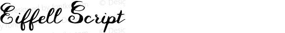 Eiffell Script Version 1.00 October 4, 2016, initial release