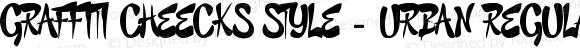 GRAFFITI CHEECKS STYLE - URBAN