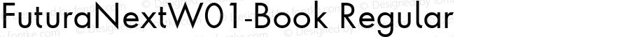 Futura Next W01 Book