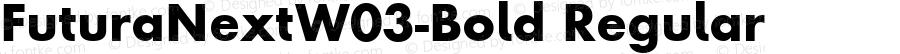 Futura Next W03 Bold