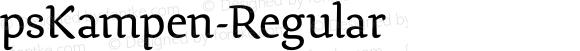 psKampen-Regular ☞ Version 1.000;com.myfonts.easy.fontopia.pskampen.regular.wfkit2.version.4qkR