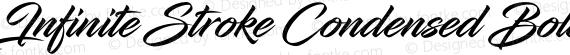 Infinite Stroke Condensed Bolder preview image