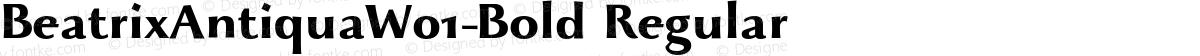 BeatrixAntiquaW01-Bold Regular