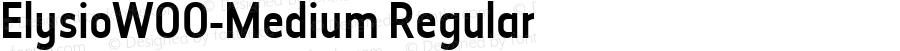 ElysioW00-Medium Regular Version 1.00