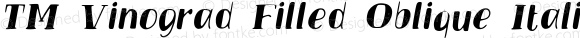 TM Vinograd Filled Oblique