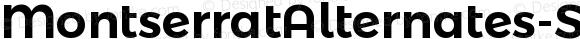 MontserratAlternates-SemiBold SemiBold