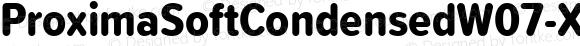 ProximaSoftCondensedW07-Xbold Regular Version 1.20