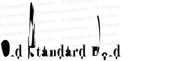 Old Standard Bold