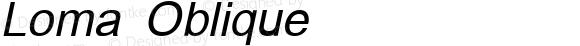 Loma Oblique