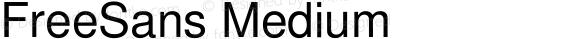 FreeSans Medium