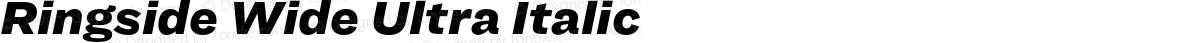 Ringside Wide Ultra Italic