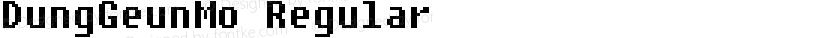 DungGeunMo Regular Preview Image