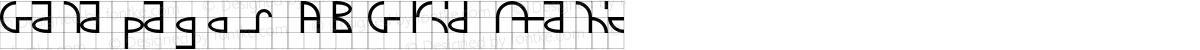 Galapagos AB Grid Italic
