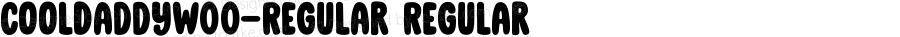 CoolDaddyW00-Regular Regular Version 1.00