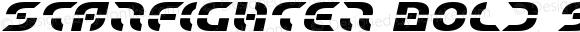 Starfighter Bold Semi-Italic Bold Semi-Italic