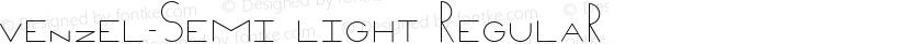 Venzel-semi light Regular Preview Image
