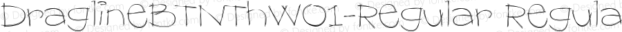 DraglineBTNThW01-Regular Regular Version 1.00