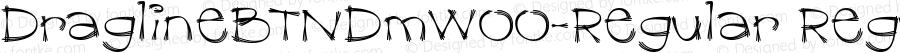 DraglineBTNDmW00-Regular Regular Version 1.00