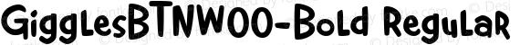 GigglesBTNW00-Bold Regular preview image