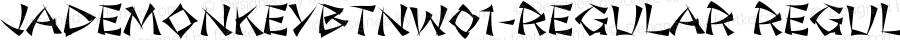 JadeMonkeyBTNW01-Regular Regular Version 1.00