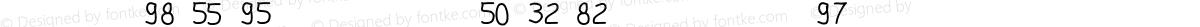 gsub7_font2 Regular