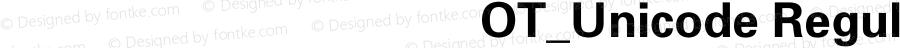 方正八思巴文忽必烈体OT_Unicode Regular Version 1.00