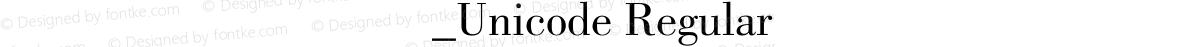 方正德宏傣文艺术体_Unicode Regular