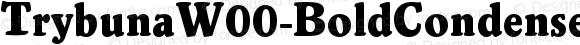 TrybunaW00-BoldCondensed Regular