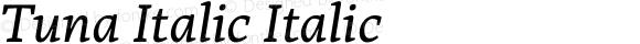 Tuna Italic Italic