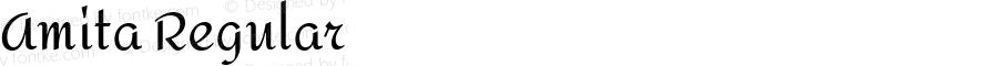 Amita Regular Version 1.003; ttfautohint (v1.4.1)