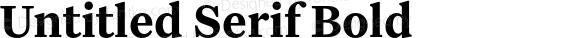Untitled Serif Bold