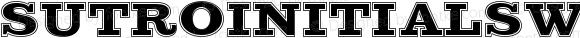 SutroInitials W01 Inline