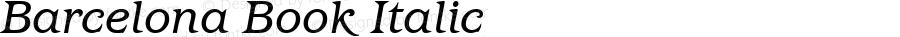 Barcelona-BookItalic