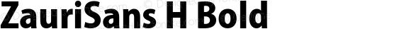 ZauriSans H Bold preview image