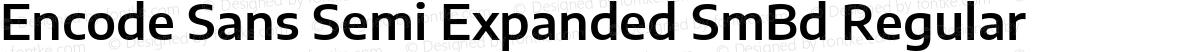 Encode Sans Semi Expanded SmBd Regular