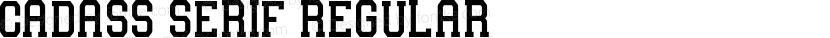 Cadass Serif Regular Preview Image