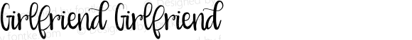 Girlfriend Girlfriend Version 1.00 2016