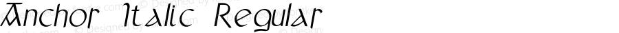 Anchor Italic Regular Version 1.000;PS 001.000;hotconv 1.0.88;makeotf.lib2.5.64775