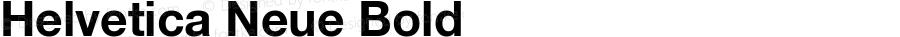 Helvetica Neue-Bold