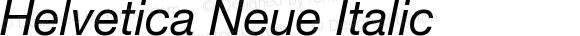 Helvetica Neue Italic Version 1.300;PS 001.003;hotconv 1.0.38
