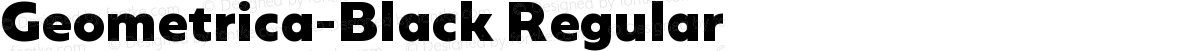 Geometrica-Black Regular