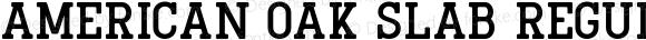 American Oak Slab Regular Version 1.000