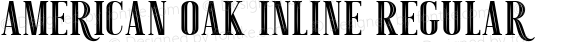 American Oak Inline Regular Version 1.000
