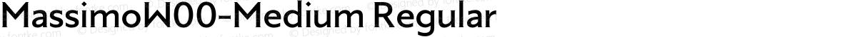MassimoW00-Medium Regular