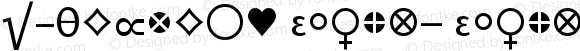 LTHeureka Glyphs Glyphs Version 001.000